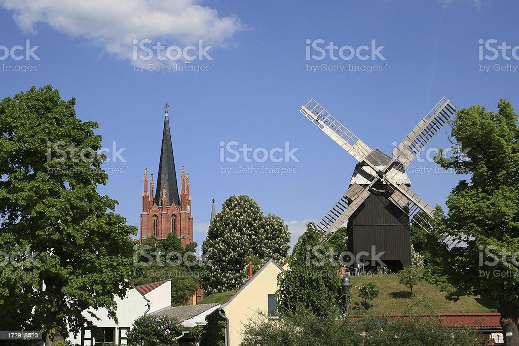 Little Village stock photo