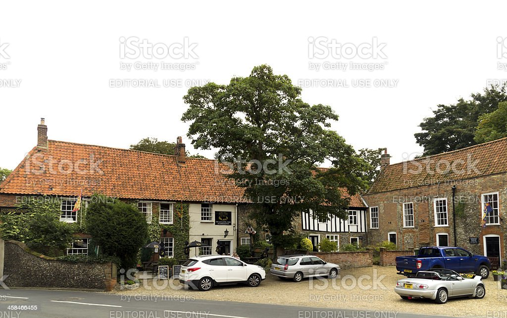 Little Walsingham, Common Place royalty-free stock photo