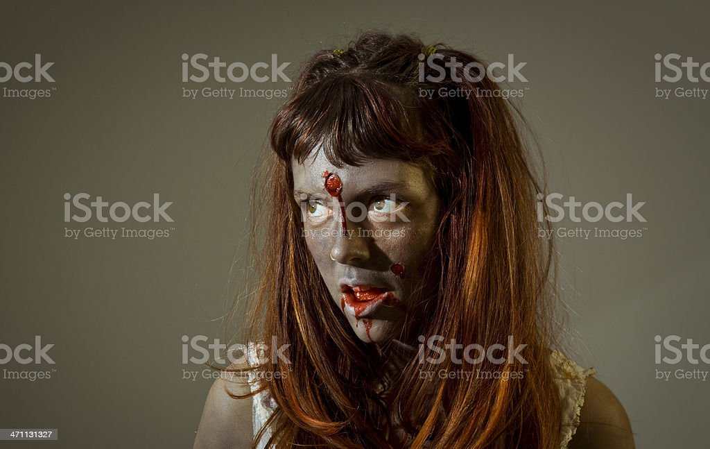 little zombie royalty-free stock photo