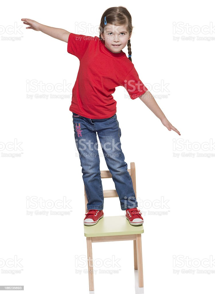 Standing Chair standing on chair pictures, images and stock photos - istock