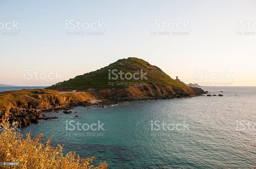 littoral Corse stock photo