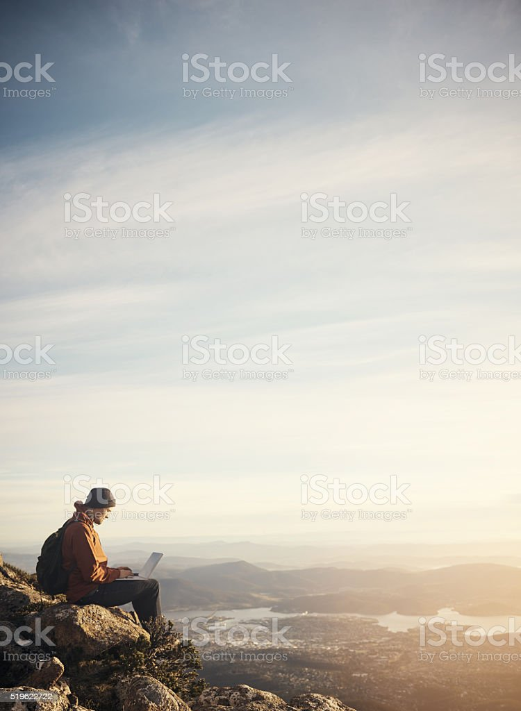 Live don't just exist stock photo