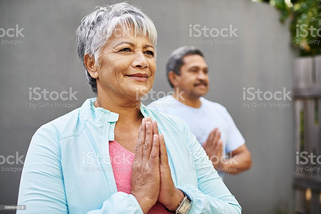 Live good, feel good stock photo