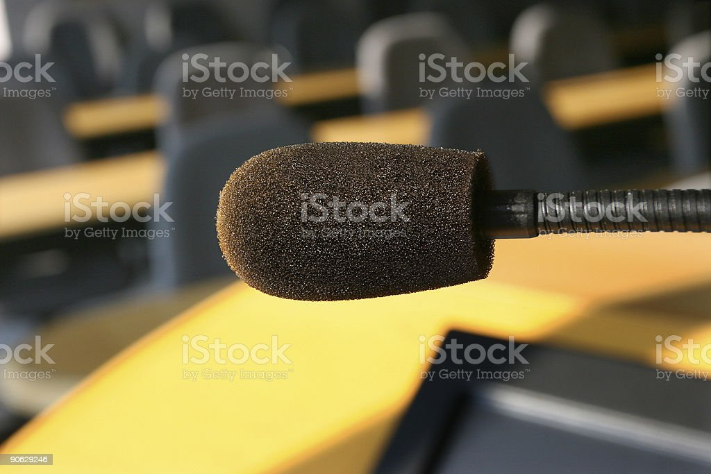 Live Mic royalty-free stock photo