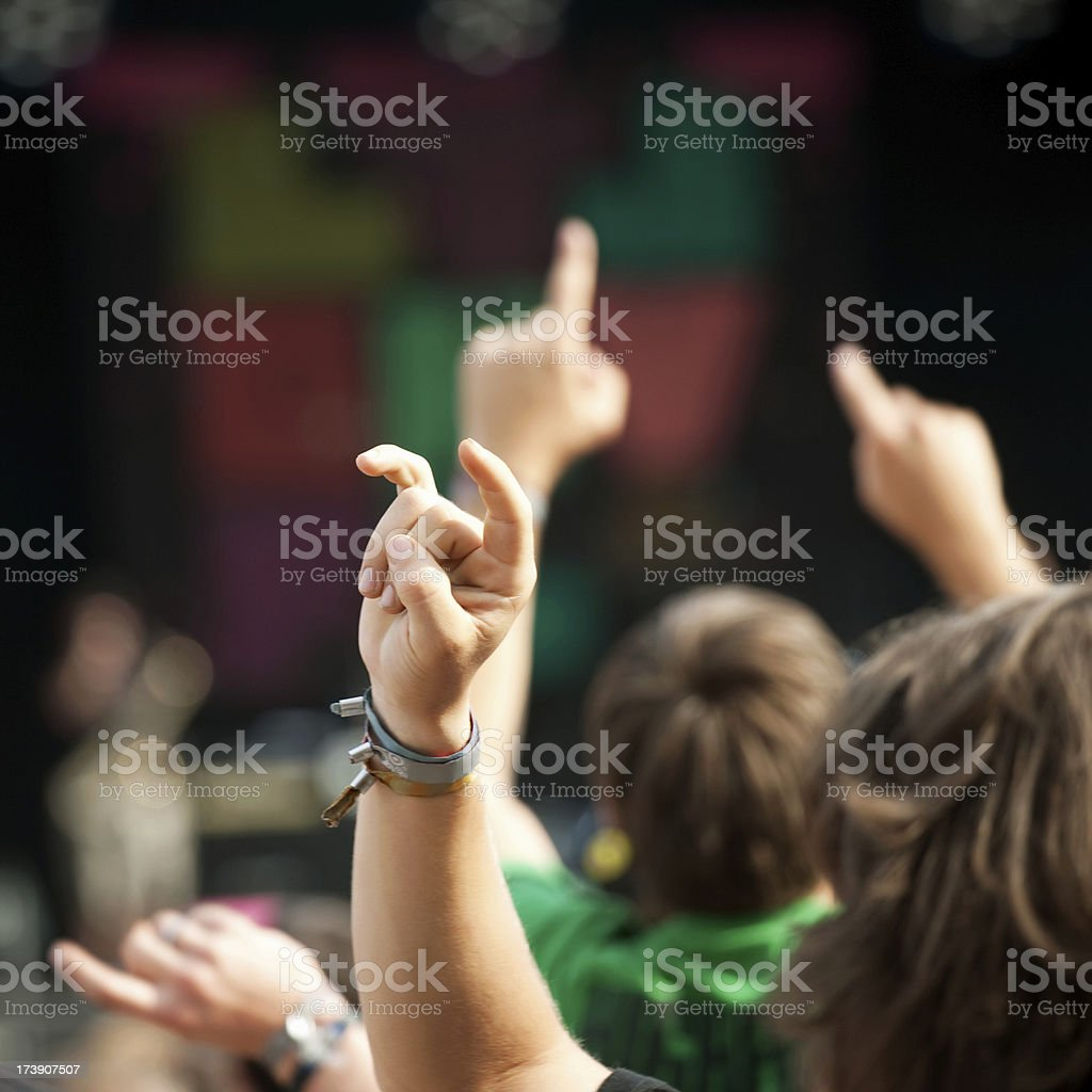 live music concert royalty-free stock photo