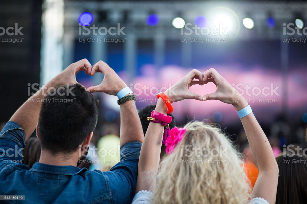 Live Music Concert stock photo
