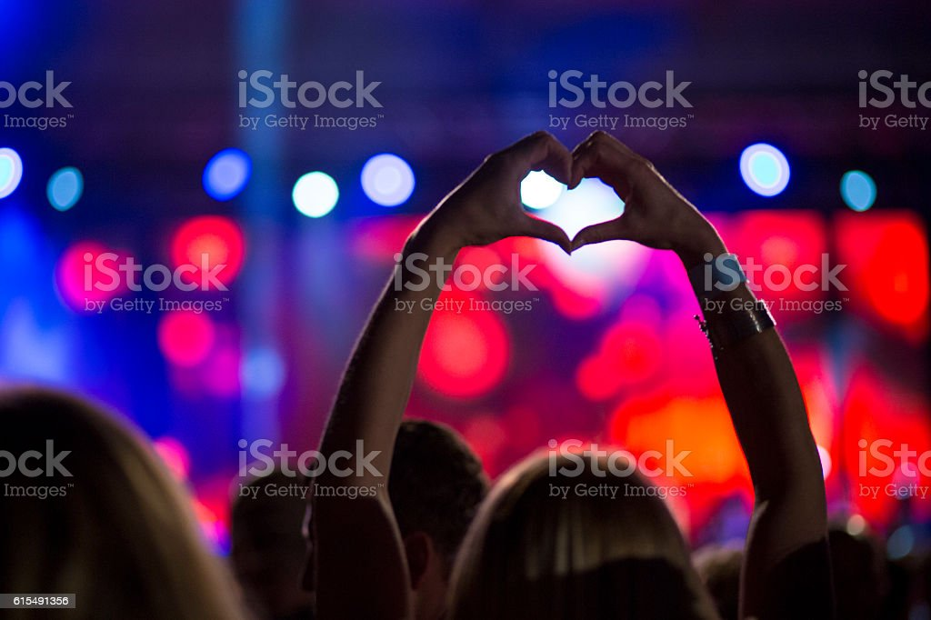 Live Music Concert stock photo