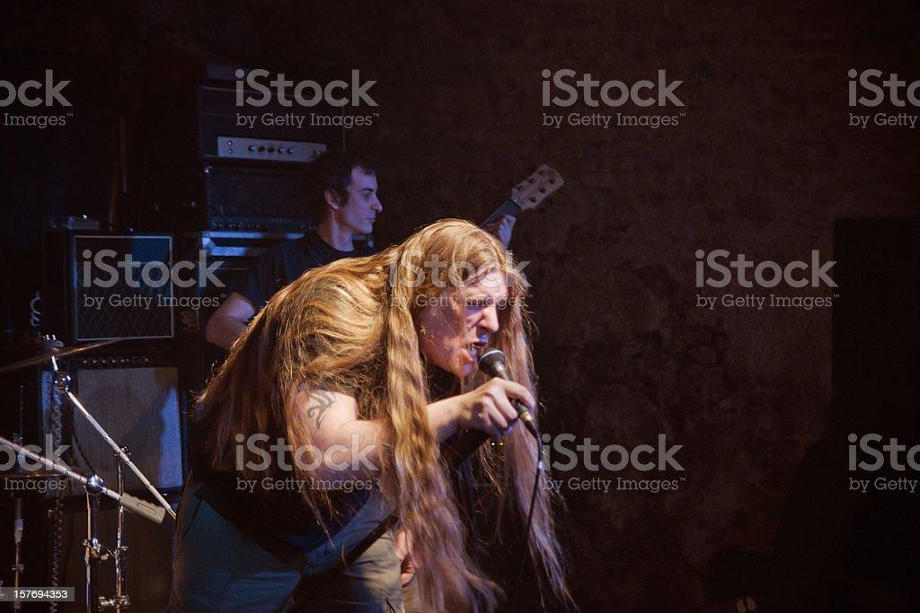 Live Rock Band stock photo