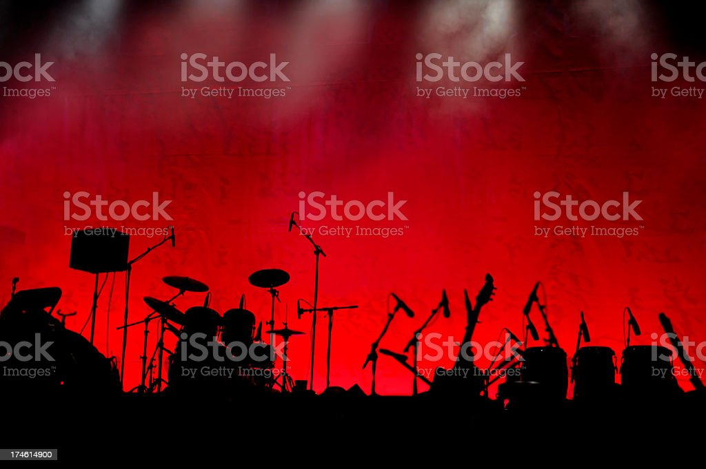 Live Show royalty-free stock photo