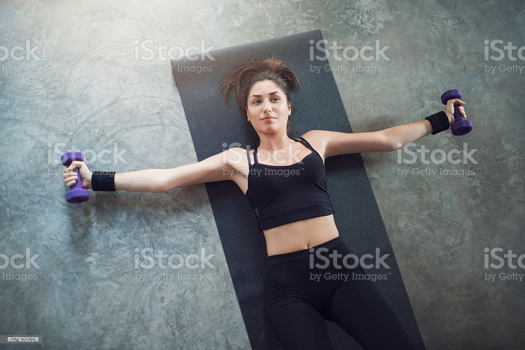 Live strong stock photo
