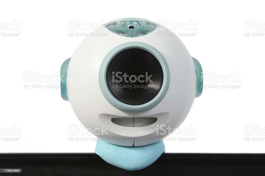 Live Webcam stock photo