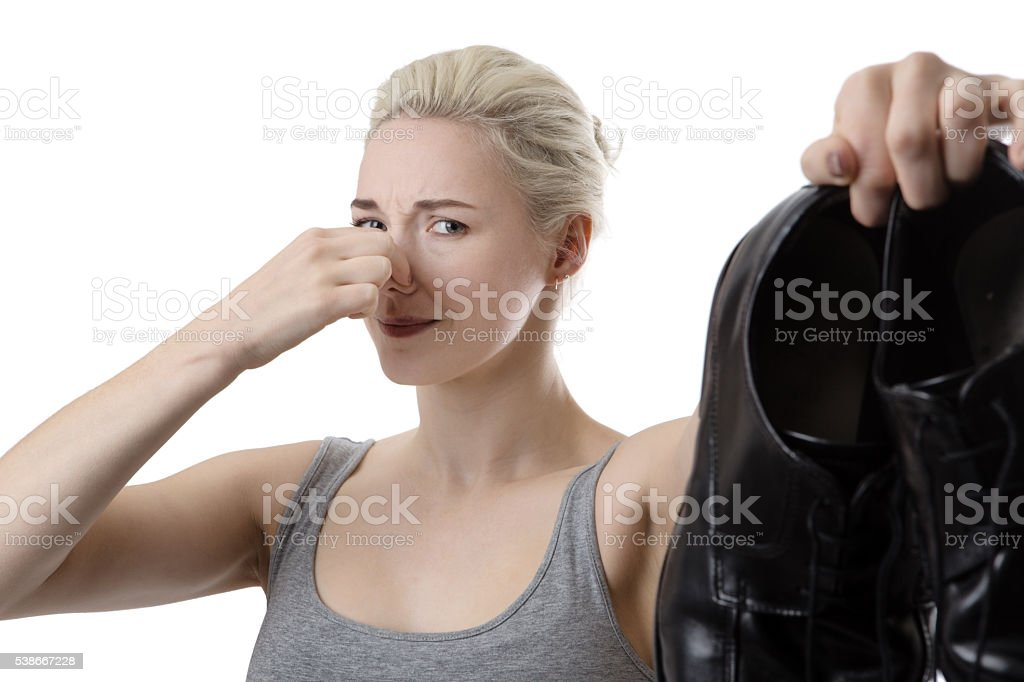 I live you but not your feet stock photo