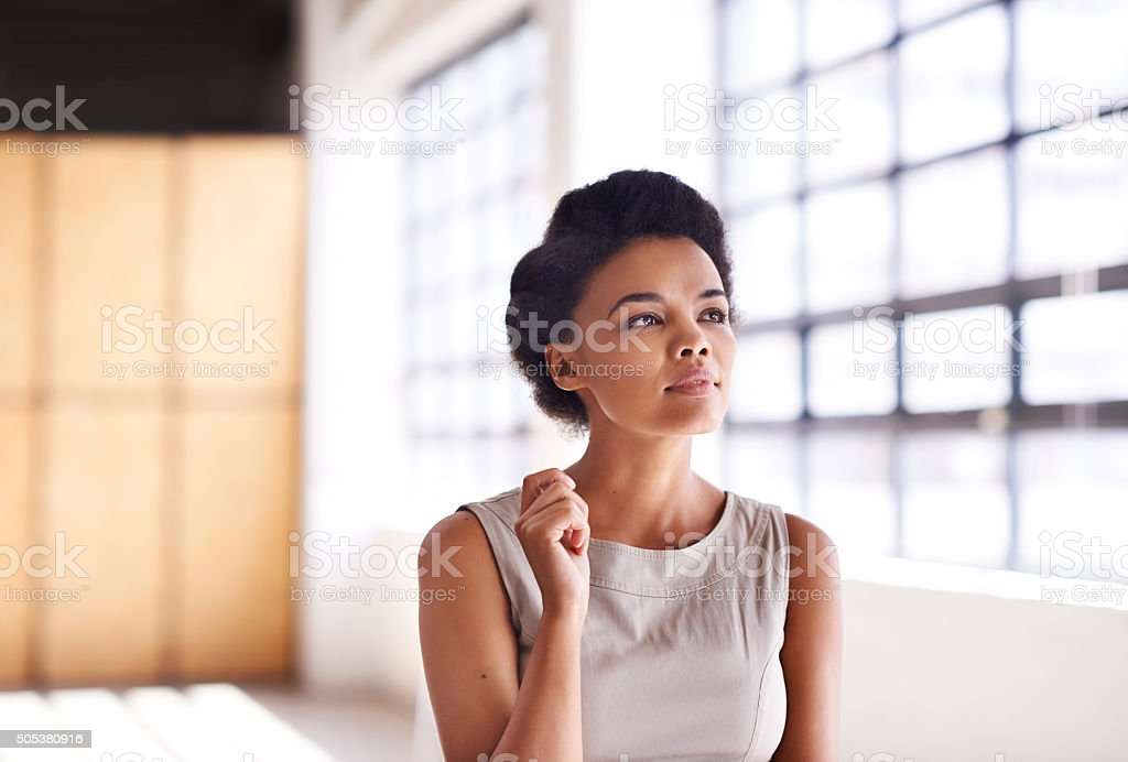 Live your vision and demand your success stock photo