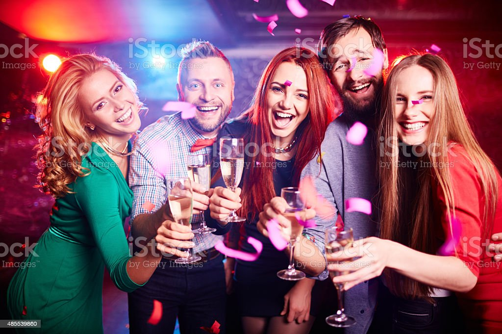 Lively weekend stock photo