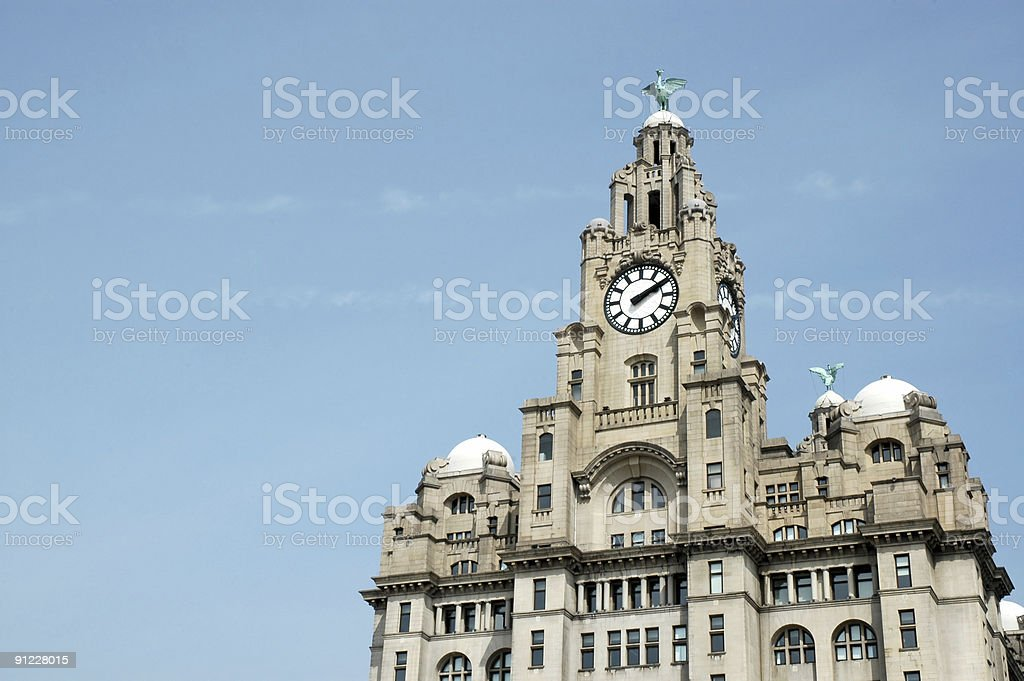 Liver Building (Last pic) royalty-free stock photo