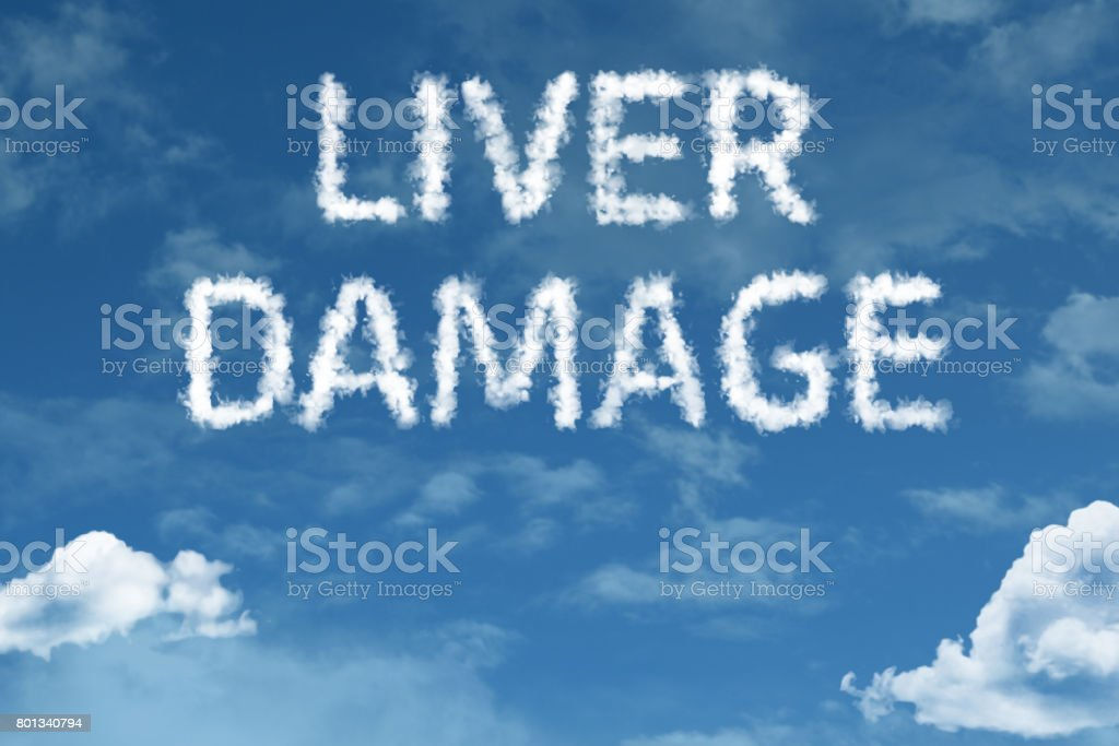 Liver Damage stock photo