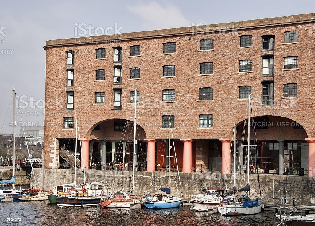 Liverpool Albert Dock Merseyside. royalty-free stock photo