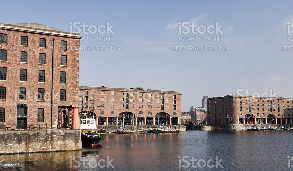 Liverpool Albert Dock Merseyside. royalty-free stock photo