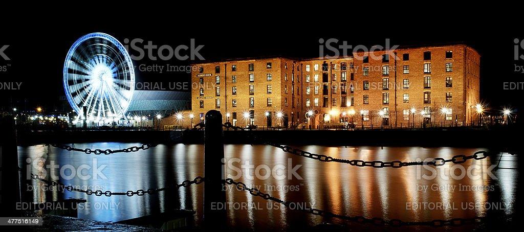 Liverpool Albert Dock stock photo