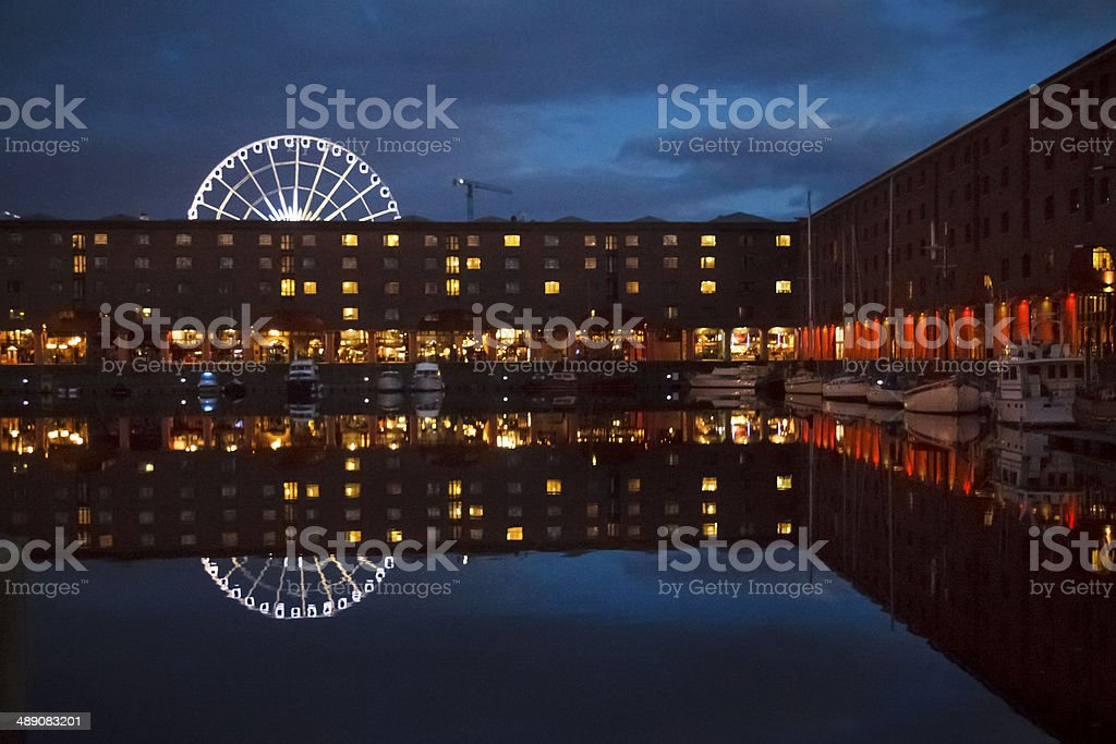Liverpool Albert Dock stock photo