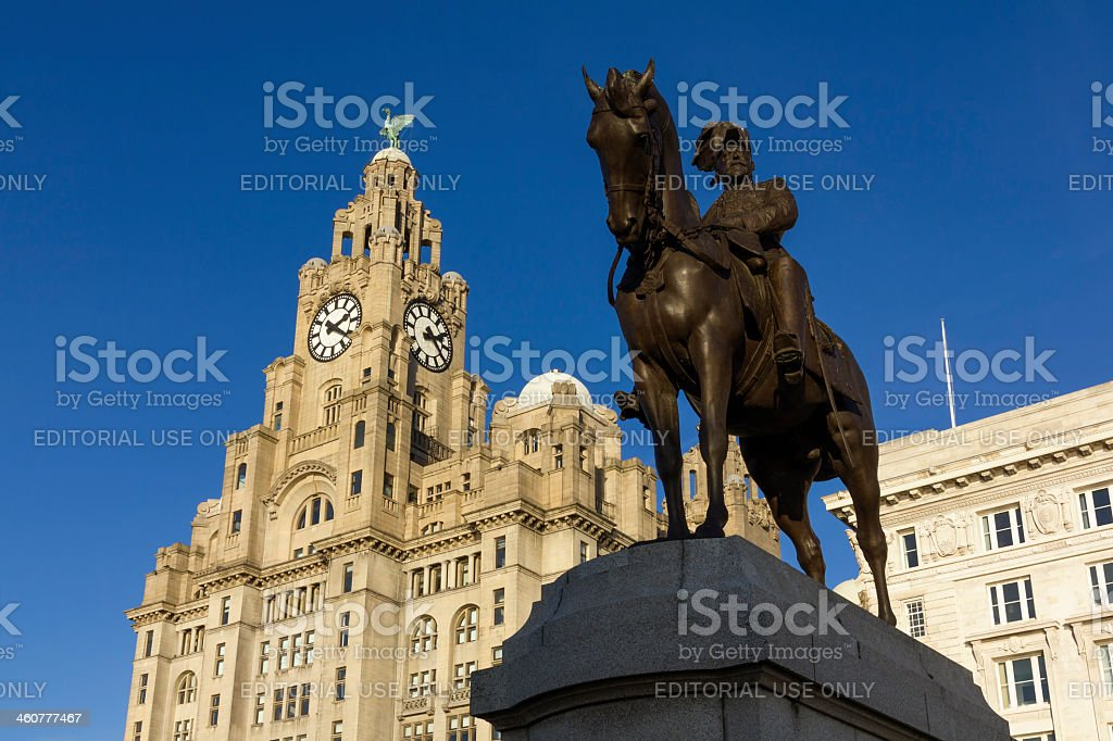 Liverpool Architecture royalty-free stock photo