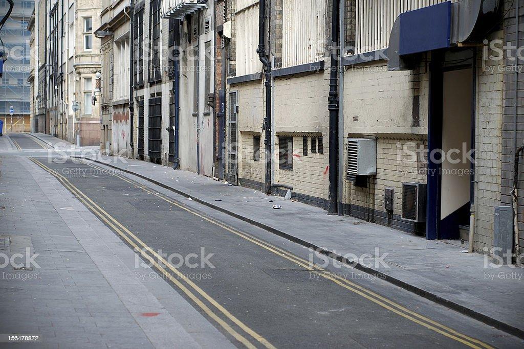 Liverpool backstreet royalty-free stock photo