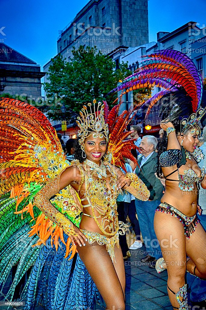 Liverpool Brazilica - Samba in the city stock photo