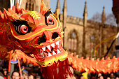 Liverpool Chinese New Year - Dragon Dancers