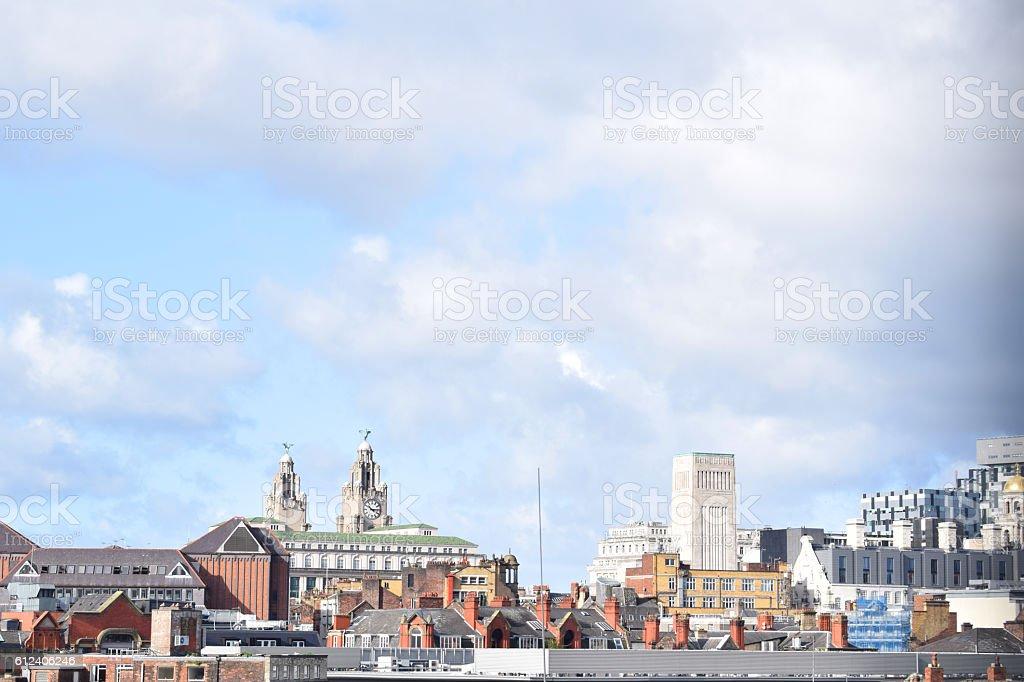 Liverpool City Centre stock photo