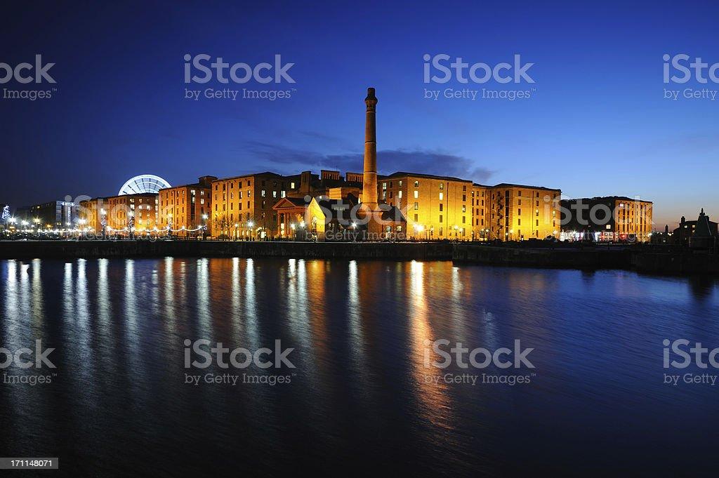 Liverpool Docks royalty-free stock photo