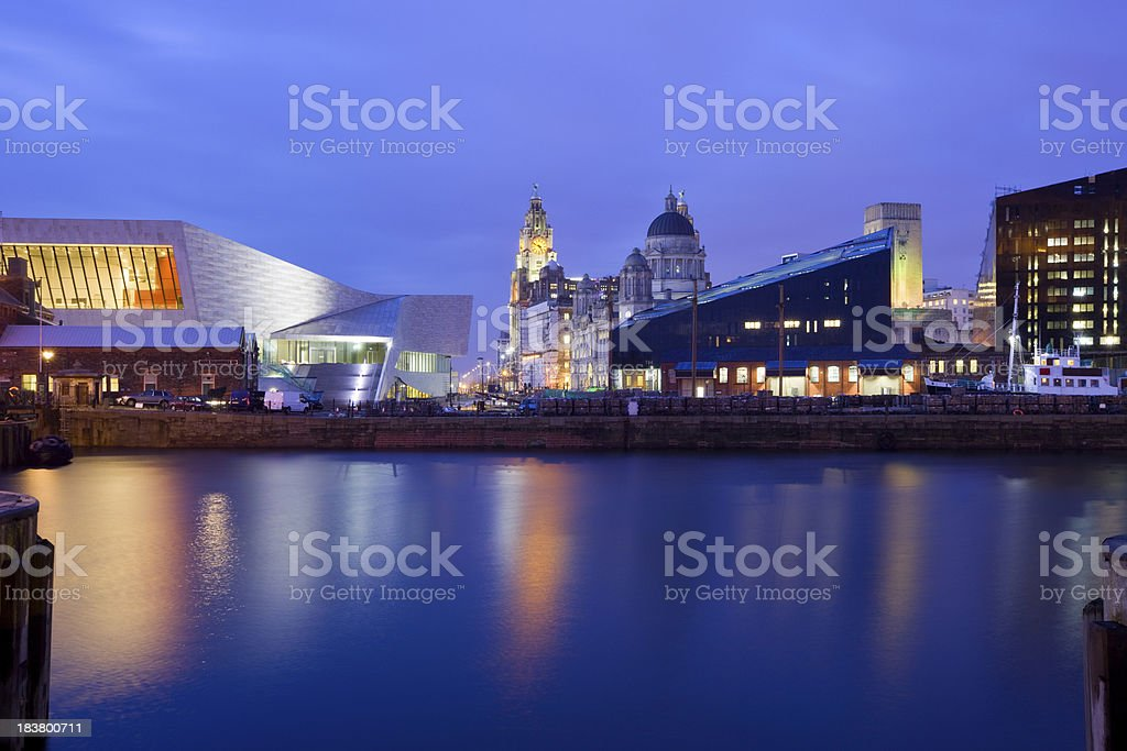 Liverpool England UK stock photo