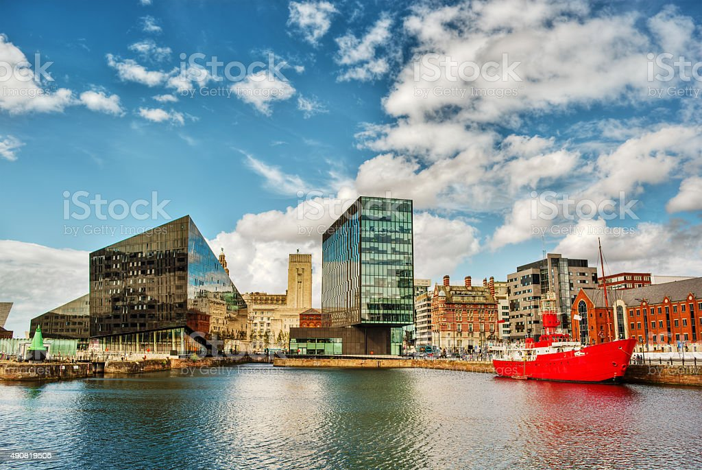 Liverpool HDR stock photo