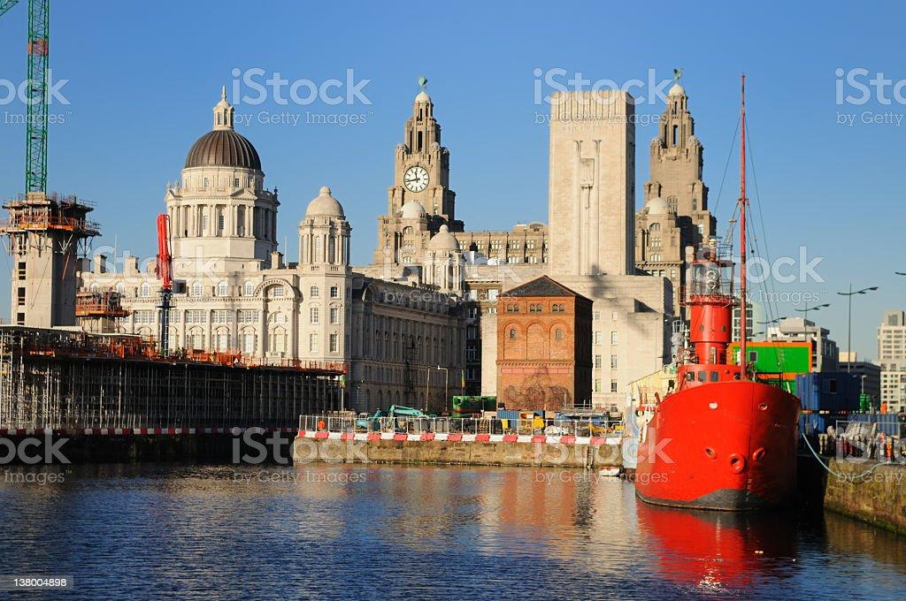Liverpool Landmarks royalty-free stock photo