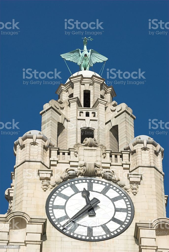 Liverpool Liver building 5 royalty-free stock photo