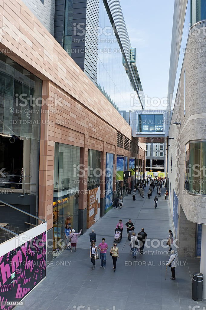 Liverpool One Shopping. royalty-free stock photo