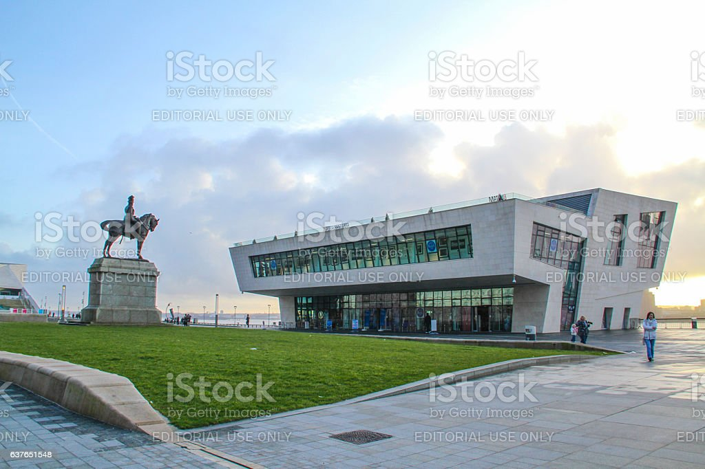 Liverpool, United Kingdom - February 24, 2014 : Liverpool stock photo