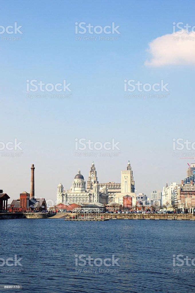 Liverpool royalty-free stock photo