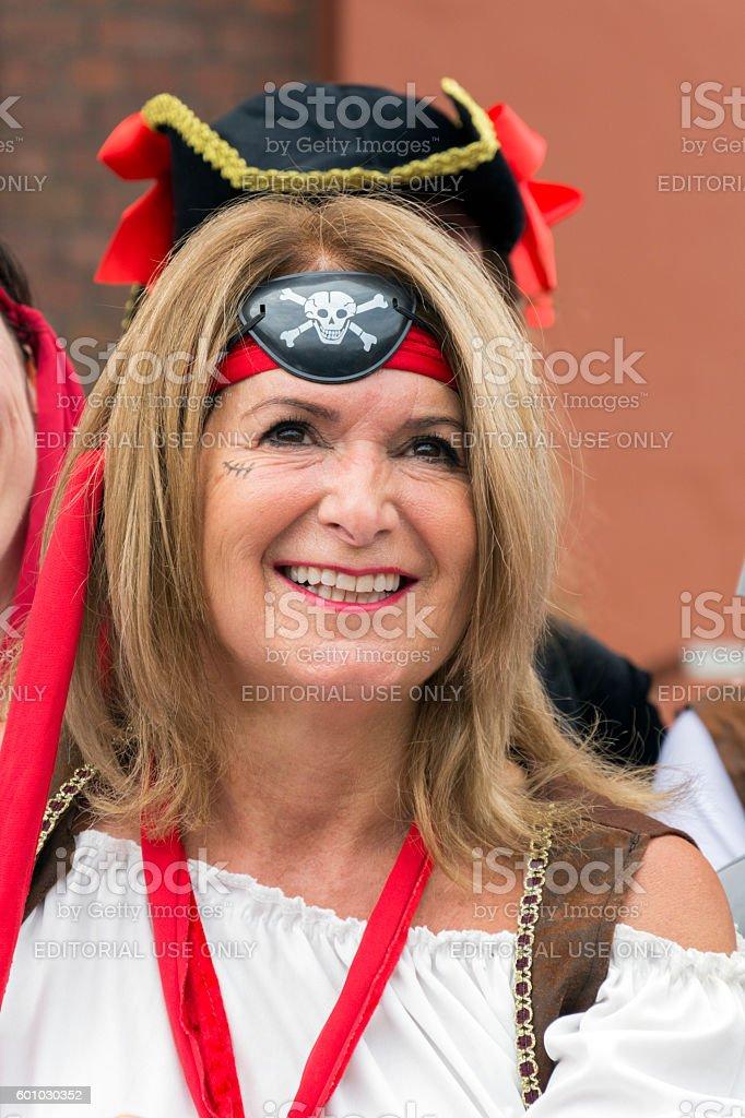 Liverpool Pirate Festival stock photo