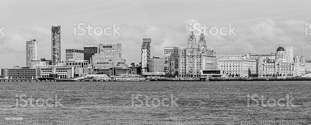 Liverpool Skyline stock photo