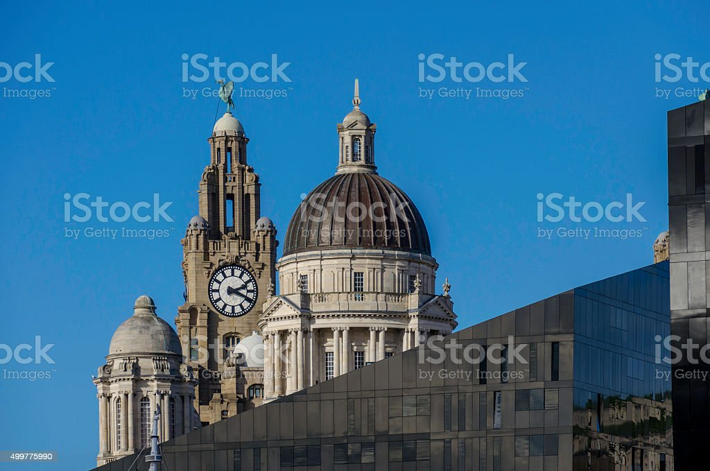 Liverpool Skyline stock photo