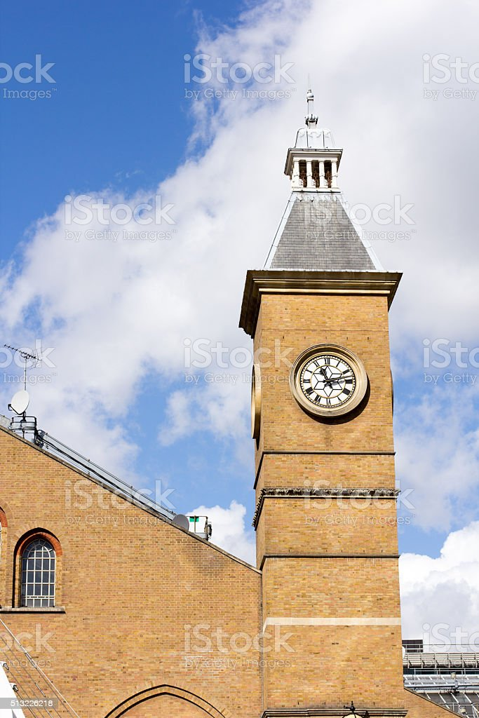 Liverpool Street Station in City of London, England stock photo