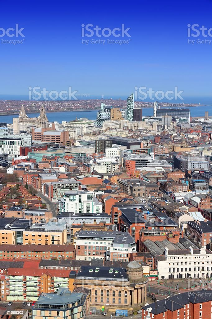 Liverpool, UK stock photo