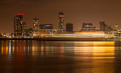 Liverpool Waterfront Light Trails