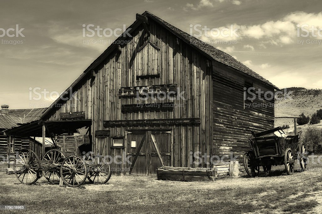 Livery Stable royalty-free stock photo