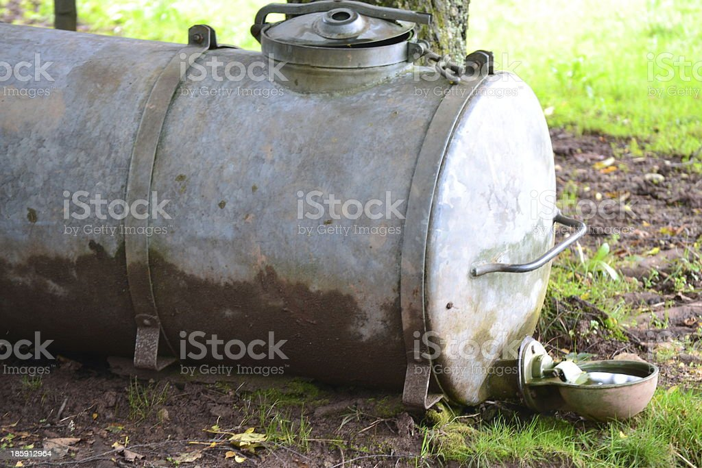 livestock watering royalty-free stock photo