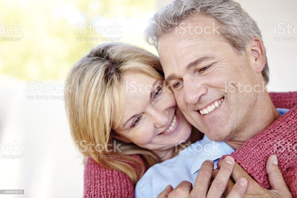 Living a life filled with love royalty-free stock photo
