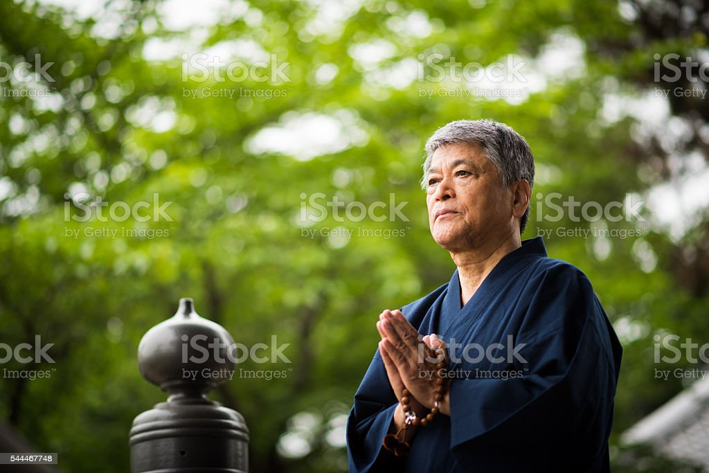Living a Zen Lifestyle stock photo