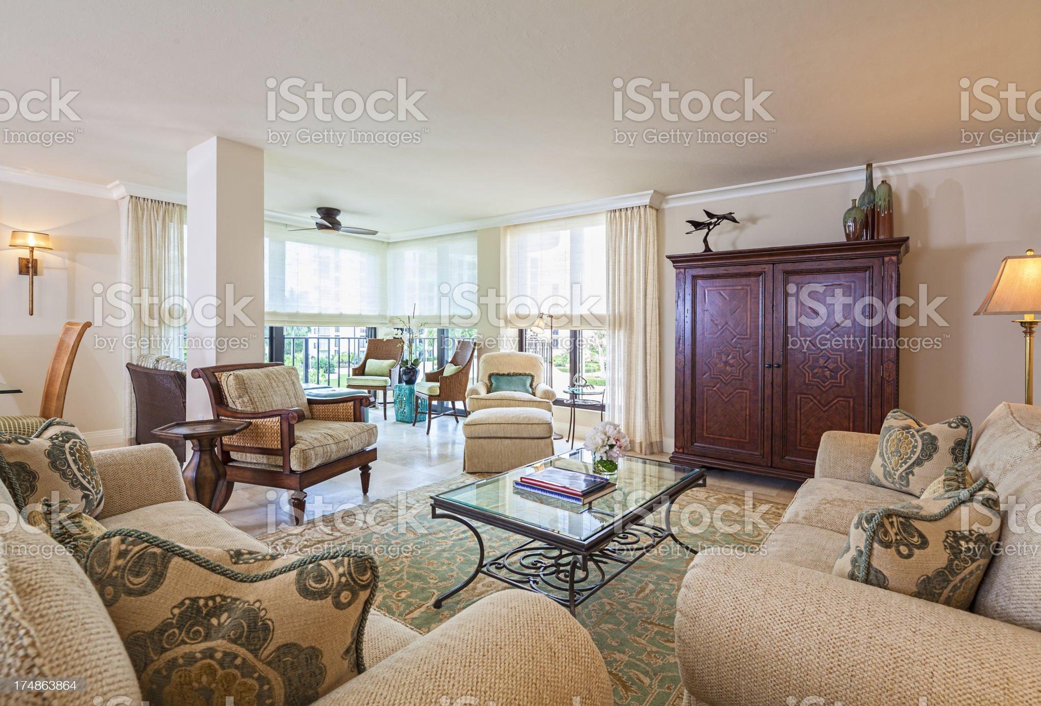 Living Area royalty-free stock photo