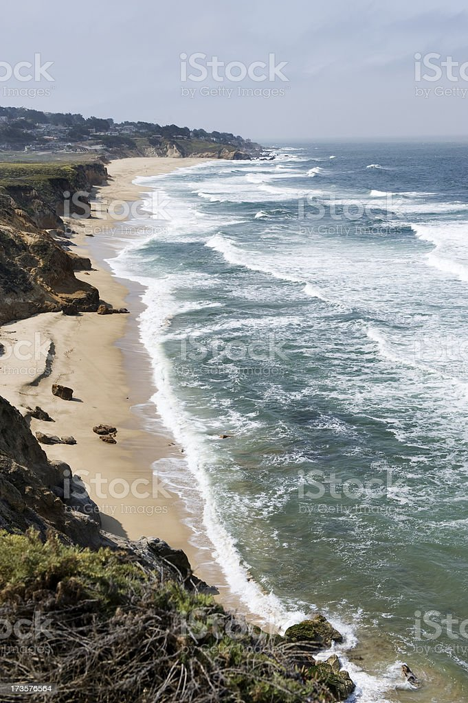 Living by the Pacific Ocean royalty-free stock photo