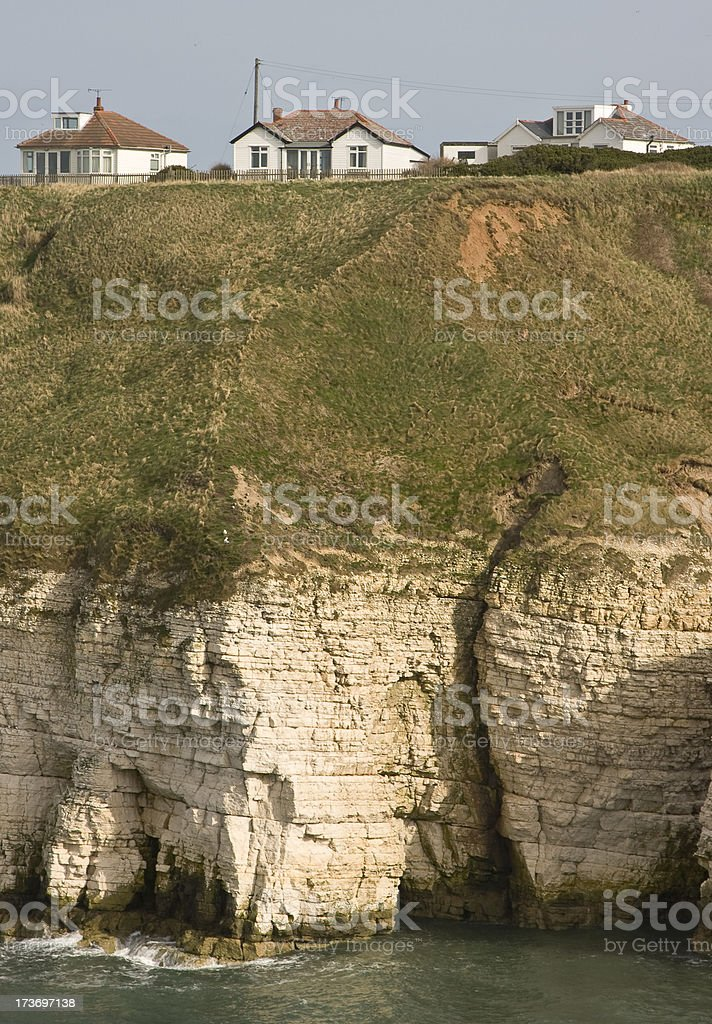 Living Close to the Edge stock photo